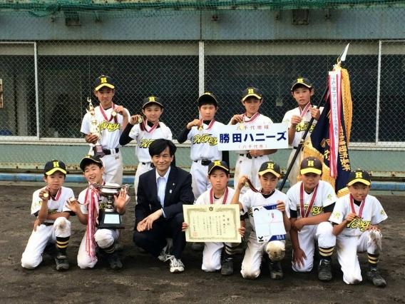 【1部】夏季市民大会(市長杯)を制覇!(H27.6.6)