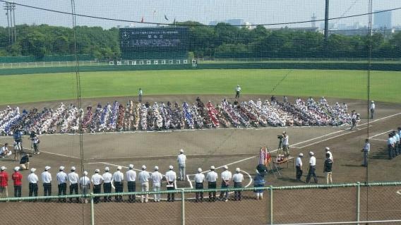 【1部】千葉県少年野球大会(千葉日報杯) 開会式